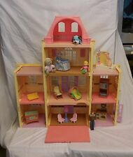 Fisher Price Loving Family Twin Time Grand Mansion Dollhouse Furniture Dolls #2