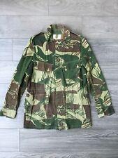 Vietnam era Camo Vtg Rhodesian Bush Jacket Vtg Brush Stroke Camo RLC Selous