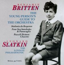 Britten: Sinfonia Da Requiem / The Young Person's Guide to the Orchestra CD