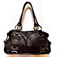 OROTON Leather Handbag Alexis Barrel Shoulder Bag large Overnight AS NEW! rp$595