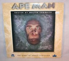 Laserdisc {F} * Ape Man * The Story Of Human Evolution Walter Cronkite