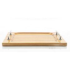 "Chris Craft Serving Sushi Rectangular Tray 14.5"" Red Cedar Wood Nautical Decor"