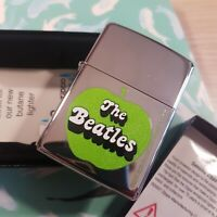 Mechero Zippo Beatles Apple High Polish chrome New Box Lifetime guarantee 1004