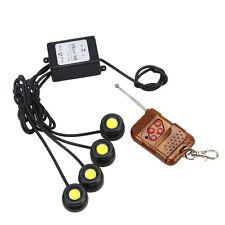 4 LED Clignotant Strobe Eagle Eye Etanche Blanc DRL 12W Flash Contrôleur Lampe