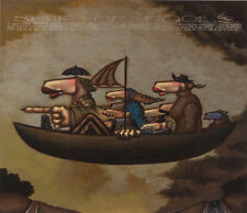 """Markus Pierson """"Ship of Fools"""" Hand Signed Limited Ed. Serigraph on Canvas"""