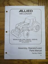 Allied 595 Loader Assembly Operators And Parts Manual