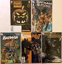 Batman 5 Comic Lot (DC, 2006-2014) Halloween, Outsiders, Scarecrow, Spirit, More