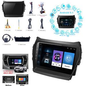 For Hyundai ix45 Santa FE 2013-17 9'' Android 9.1 1+16GB Car Stereo Radio GPS