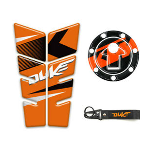 Motorcycle Tank Pad Protector Decal Stickers Case for KTM DUKE 200 250 1190 990