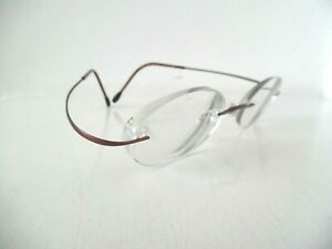 Unisex Silhouette Bronze/Brown Rimless Eye Glasses 7395 40 6069 19 40 Austria