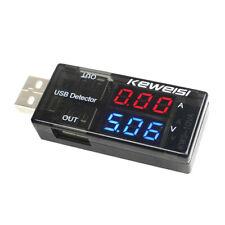 USB Voltmeter Ammeter Tester Charger Doctor Current Voltage Detector Battery