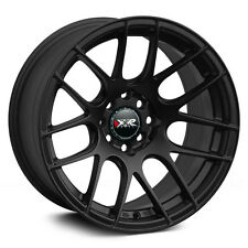 16X8 XXR 530 WHEELS 4X100/114.3MM +20 73.1 FLAT BLACK FITS BMW 318 325 (E30)
