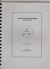 FREE FRENCH CENSORSHIP IN THE LEVANT ; Excellent monograph Zimmerman