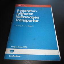 Werkstatthandbuch VW Transporter T3 ab´83 / 1,9L Einspritz Motor Digijet DH GW