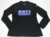 Asics Mens Performance Athletic Long Sleeve T Shirt Size Medium M MMA Cross EUC