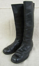 WWII Red Army Genuine Officer's Thin Leather High Boots. SIZE 10