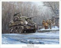"""Armored Recon"" - Mark Karvon - M5A1 Stuart"