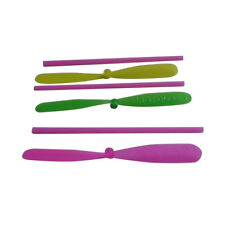 Fashion Bamboo Dragonfly Propeller Outdoor Toy Kids Gift Flying 10pcs Plastic