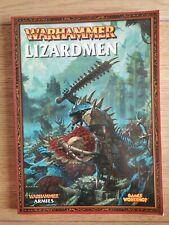 Warhammer Lizardmen Softback Army Book