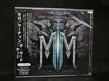 DARIO MOLLO TONY MARTIN The Third Cage + 1 JAPAN CD Black Sabbath Giuntini Pjct.