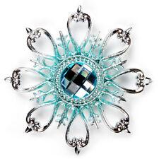 "5"" Tiffany Blue Snowflake Christmas Ornament Tree Decor by Kurt Adler"