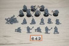 Warhammer 40k Chaos Marines Cultists x 18 including Anarkus LOT 642