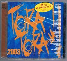 TORA TORA 2003 AFTERHOURS BUGO CRISTINA DONA LA CRUS SUBSONICA 2 CD SIGILLATO!!!