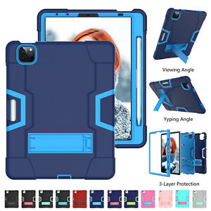 For iPad Mini6 8.3 2021 Mini5 7.9 Shockproof Stand Case Heavy Duty Rugged Cover
