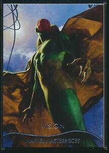 2020 Upper Deck Marvel Masterpieces Base Level 1 #17 Vision /1999