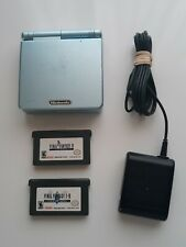 (Nintendo GBA SP, AGS-101) Teal Gameboy Advance SP, Charger & Final Fantasy!!!