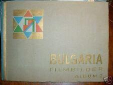 538 BULGARIA Zigaretten Filmbilder 2 1932 Komplett german card book Film actors