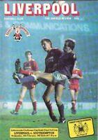 1987 LEAGUE CUP SEMI-FINAL - LIVERPOOL v SOUTHAMPTON
