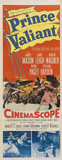 Prince Valiant James Mason Janet Leigh movie poster print