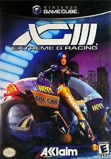XGIII: Extreme G Racing (Nintendo GameCube 2001) COMPLETE GAME BOX MANUAL NES HQ