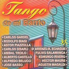 Various Artists : Tangos De Mi Barrio CD