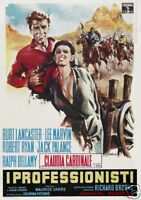 The professionals Claudia Cardinale movie poster