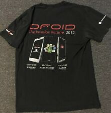 Motorola Droid Promo Shirt S Verizon Wireless Cell Phone Razr Flip Phone Apple