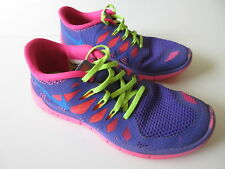 Girl's NIKE 'Free 5.0 GS' Sz 7 US Shoes Runners ExCon Youth | 3+ Extra 10% Off