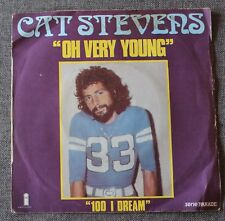 Cat Stevens, oh very young / 100 i dream, SP - 45 tours