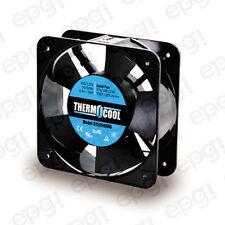 FAN AXIAL THERMOCOOL (150X150X50mm) 176/198 CFM SLEEVE 110V 60Hz #G15050HAS