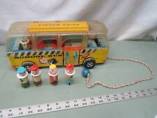 Fisher Price Little People Play Family Safety School Bus complete vintage 983