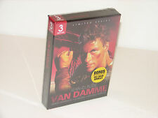 JEAN CLAUDE VAN DAMME - DEATH WARRANT / CYBORG / DOUBLE IMPACT-BRAND NEW