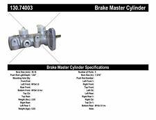 New Master Brake Cylinder  Centric Parts  130.74003