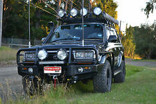 FITTED Toyota Landcruiser 80 Series Bullbar Bull Bar 4x4 4wd offroad protection