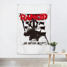 Vintage Rock Band Hanging flag Banner Canvas Painting Bar Cafe Home Decor UYGJ
