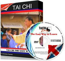 LEARN TAI CHI DVD BEGINNERS GUIDE MEDITATION, PRACTICE, EXERCISE