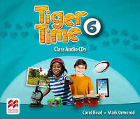 Tiger Time Level 6 Audio CD by Mark Ormerod,Carol Read, NEW Book, FREE & Fast De