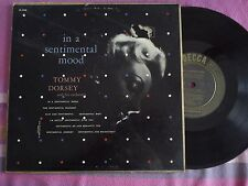 LP 25 cm TOMMY DORSEY-TOMMY DORSEY AND HIS ORCHESTRA-IN A SENTIMENTAL MOOD + 7