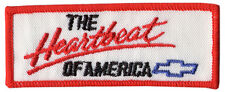 The Heartbeat of America Chevrolet Embroidered Patch