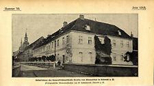 Nascita Casa Graf v. Blumenthal in alfranchising A.O. storica delle riprese di 1900